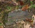 Fragment nieistniejącego żeliwnego krzyża (Białogarda)