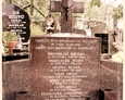Szymbark - zbiorowa mogiła pomordowanych Polaków w 1944 r.na miejscowym cmentarzu