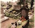 Szymbark - najstarsze nagrobki pochodzące z lat '30 XX wieku na miejscowym cmentarzu