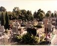 Łebień - widok ogólny na cmentarz