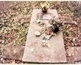 Jeden z najlepiej zachowanych nagrobków na cmentarzu (Oskowo)