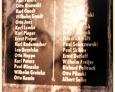 Sasino - tablica z nazwiskami poległych w I wojnie światowej