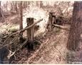 Stilo/Osetnik - pozostałości drewnianego ogrodzenia