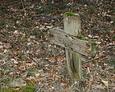 Jeden z nielicznych zachowanych drewnianych krzyży