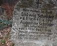 Kamień nagrobny z inskrypcją