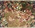 Podkomorzyce - kamienna rama pod tablicę inskrypcyjną