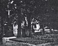 Teren cmentarza przykościelnego w Przodkowie (zdjęcia pochodzą najprawdopodbniej z lat 80tych)