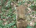 Fragment najprawdopodobniej drewnianego krzyża