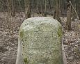 Kamień z datą 1851 - pamiątka po przejeździe Fryderyka Wilhelma IV