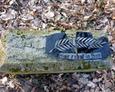 Fragment rozbitej tablicy