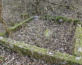 Jedno z kliku pól nagrobnych znajdujących się na cmentarzu