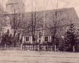 Archiwalne zdjęcie kościoła w Łupawie (rok 1913)