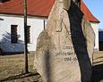 Pomnik poświęcony poległym w I wojnie światowej na terenie dawnego cmentarza ewangelickiego