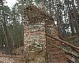 Ruiny kościoła św. Mikołaja w Łebie (stan z marca 2016 roku)