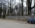 Główne wejście na cmentarz w Salinie