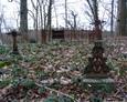 Teren cmentarza w Salinie