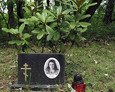 Nagrobki na radzieckim cmentarzu