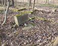 Zdewastowany teren cmentarza ewangelickiego