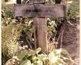 Damnica - cmentarz komunalny (jeden z krzyży drewnianych)