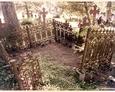 Damnica - cmentarz komunalny (żeliwne ogrodzenie)