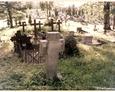 Damnica - cmentarz komunalny (jeden z kamiennych krzyży)