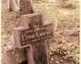 Damnica - cmentarz komunalny (jeden z lepiej zachowanych kamiennych krzyży)