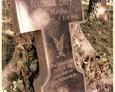 Damnica - cmentarz komunalny (kamienny krzyż)