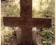 Damnica - cmentarz komunalny (krzyż żeliwny prosty)
