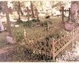 Damnica - cmentarz komunalny (żeliwne ażurowe ogrodzenie nagrobka)