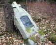 Kamienny postument należący do Adolfa Srocka