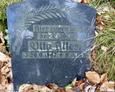 Płyta nagrobna z podpisem Otto Alters
