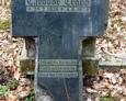 Kamienny krzyż należący do Theodora Trappa