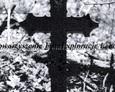 Żeliwny krzyż na ewangelickim cmentarzu w Zwartowie