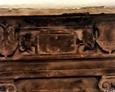 Epitafium Doroty Sycewic (Zitzewitz) - widoczne herby rodowe ojca i matki