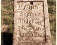 Charbrowo - południowy filar z inskrypcją