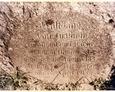 Charbrowo - inskrypcja znajdująca się na cokole krzyża