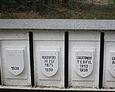 Tablice z nazwiskami ofiar