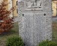 Pomnik poległych w czasie I wojny św. z parafii w Łebie