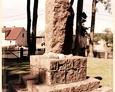 Bukowina - pomnik poświęcony poległym w I wojnie światowej