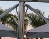 Parasol Prostor PR6 tłoki hydrauliczne,