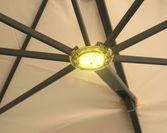Parasole ogrodowe Prostor - oświetlenie LED do parasoli PR6 i PR7