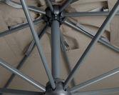 Parasol ogrodowy Galileo Dark