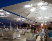Parasol ogrodowy Galileo Maxi 4x4 White z oświetleniem (opcja)