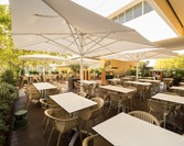 Parasol ogrodowy Capri GIGANT white
