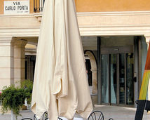 Parasol ogrodowy Giove Wood
