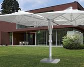Parasol ogrodowy Galileo Alu i Wood 4-czaszowy