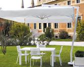 Parasol ogrodowy Afrodite White