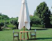Parasol Palladio telescopic
