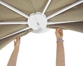 Parasol ogrodowy Flat Magnetic