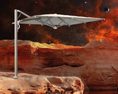 Parasol ogrodowy Astro Carbon 300x300